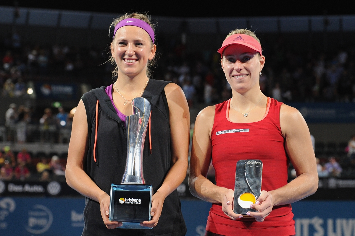 Victoria Azarenka and Angelique Kerber