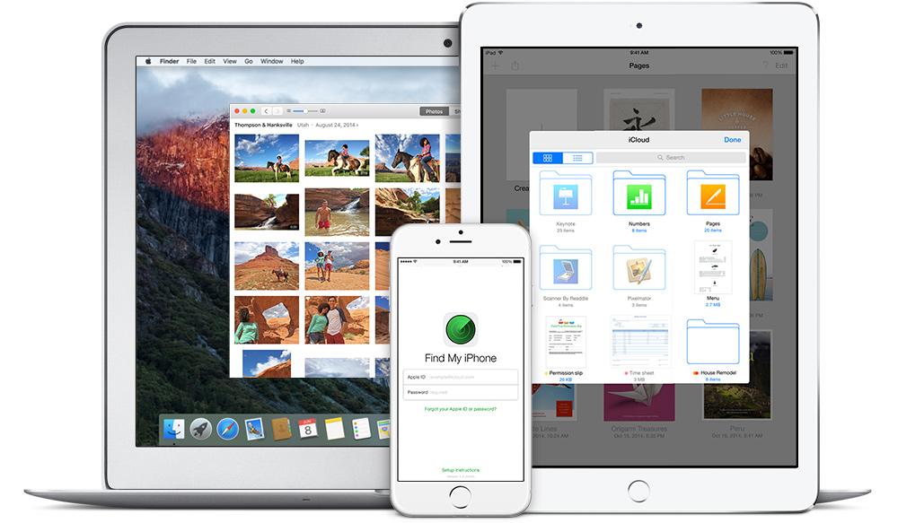 iCloud ecosystem