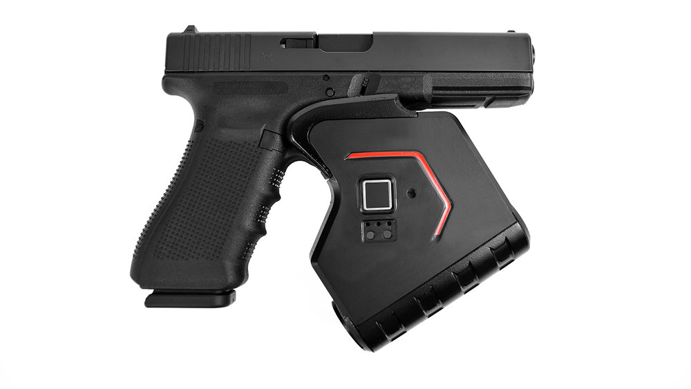 Identilock smart gun biometric lock system