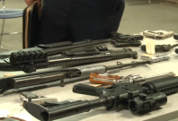 Guns claimed by police