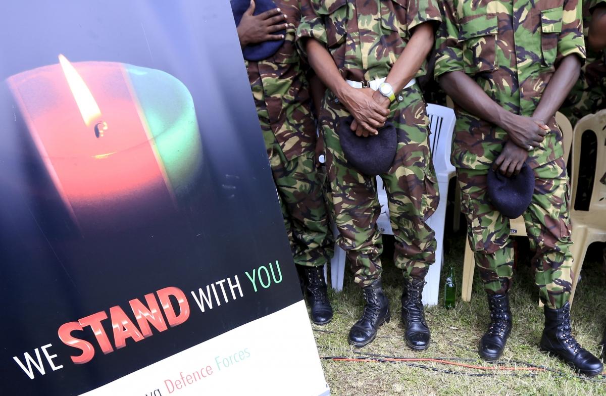 Kenya soldiers