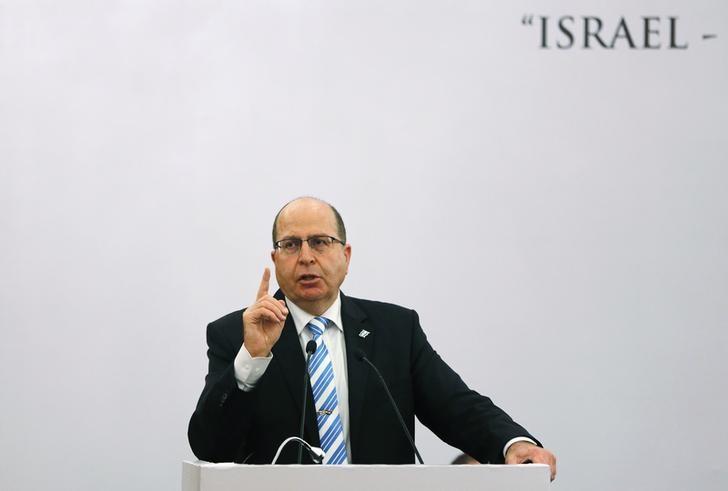 Israeli Defence Minister Moshe Yaalon