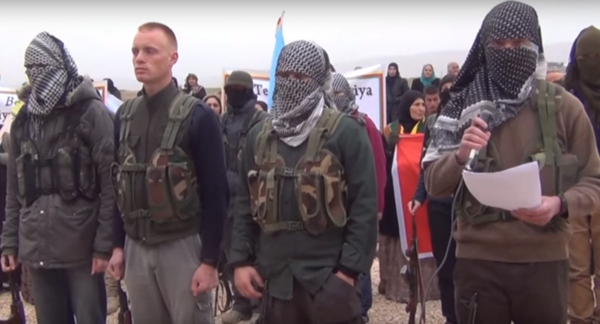 Kurdish militants recruit foreigners for YPG PKK