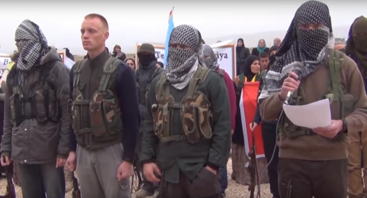 Kurdish militants recruit foreigners for YPG PKK