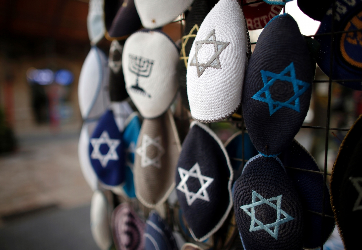 Jewish skull caps