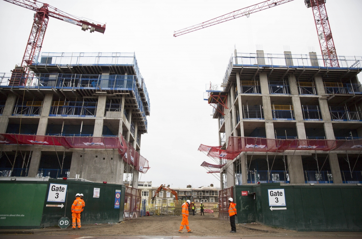UK construction house building