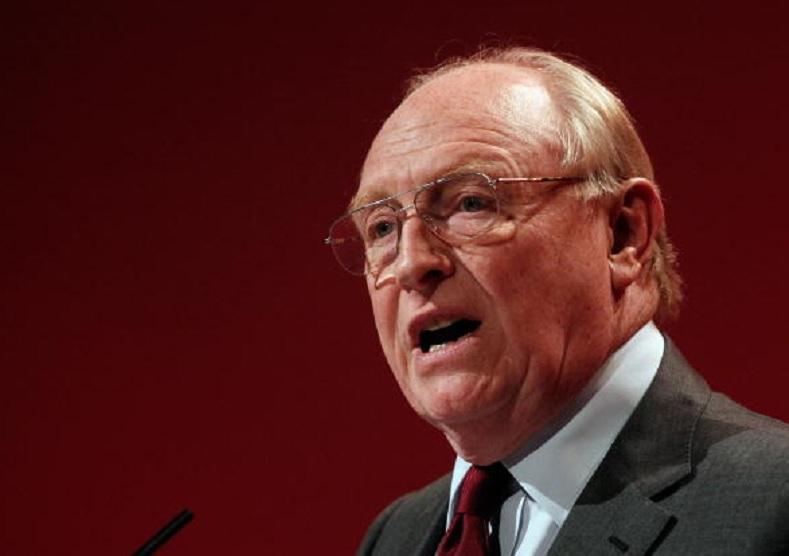 Lord Neil Kinnock, former Labour leader