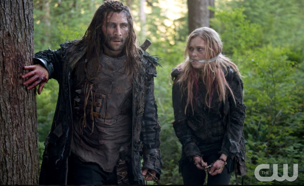 Watch The 100 season 3 episode 2 online: Bellamy and Cane