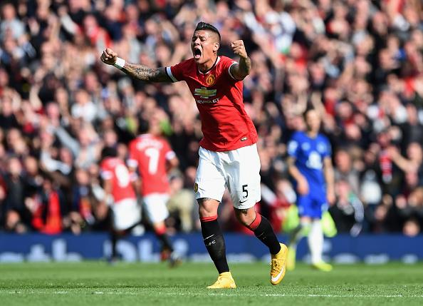 Manchester United Defender Marcos Rojo Targets Estudiantes