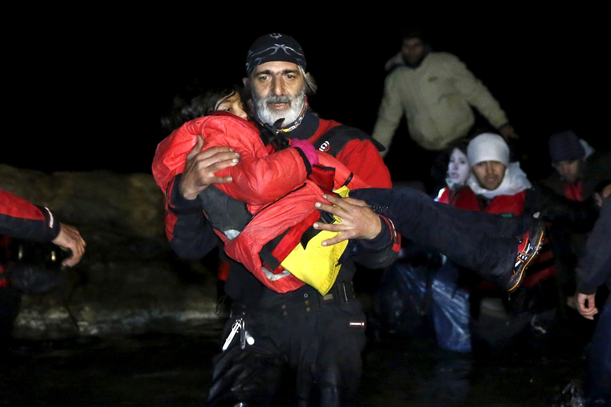 Migrant crisis Greece