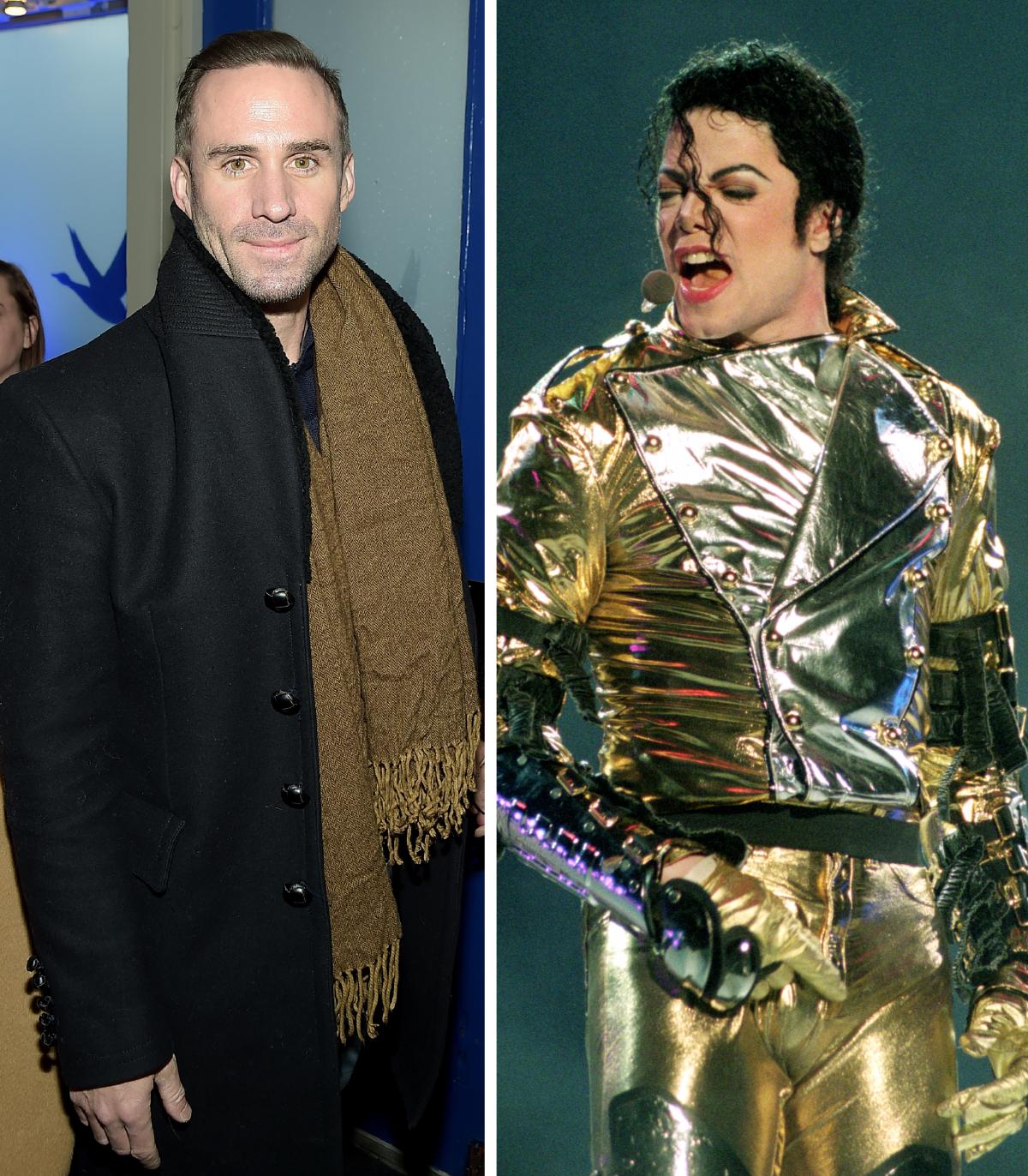 Joseph Fiennes, Michael Jackson