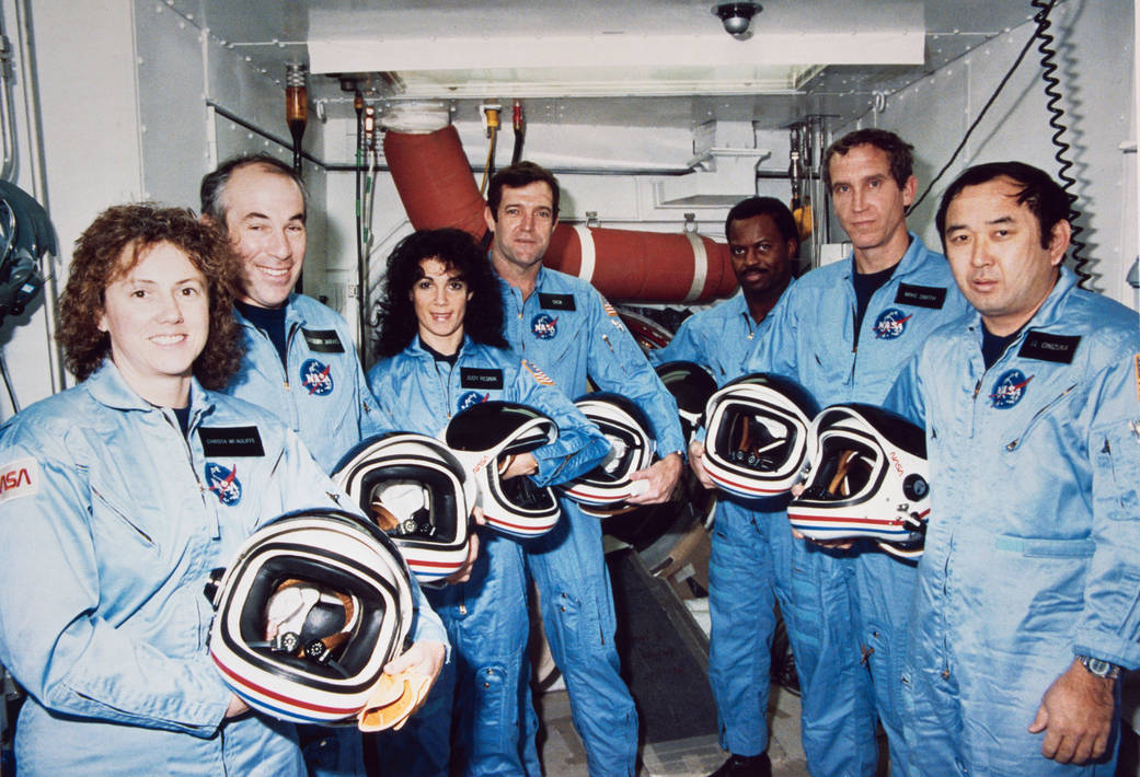challenger disaster crew nasa