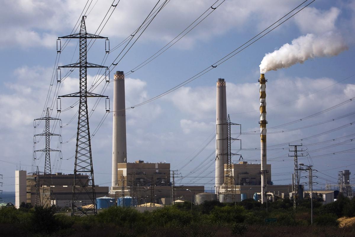 Power station in Ashdod, Israel