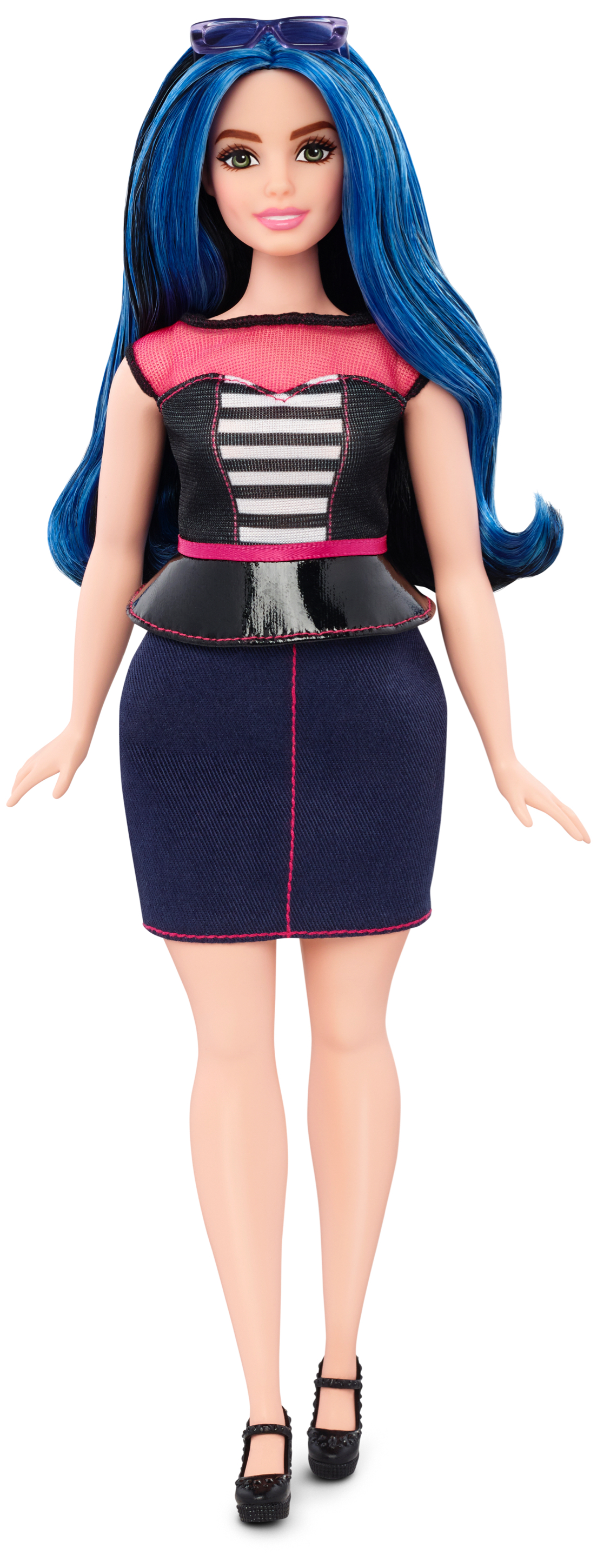 The curvy Barbie