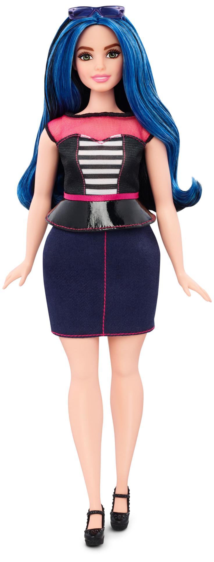 The curvy Barbie