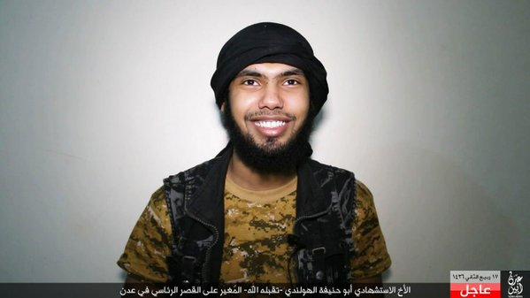 Isis bomber in Yemen is Dutch
