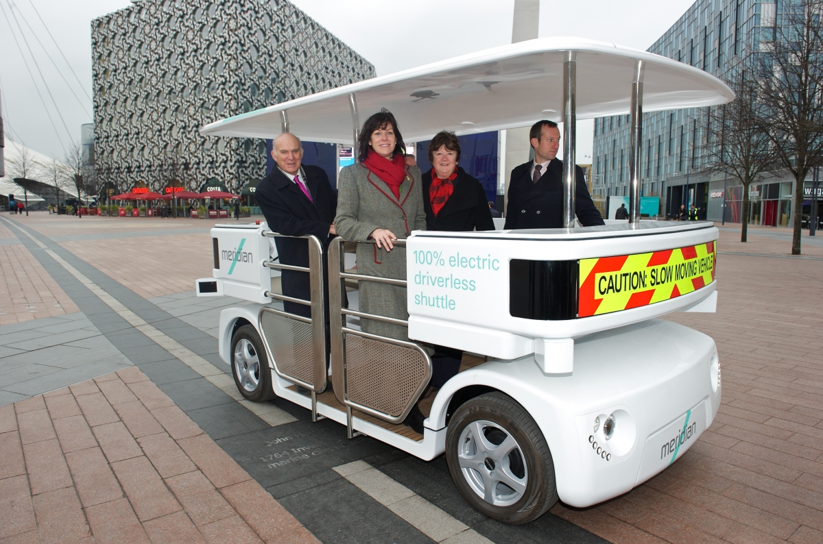 London driverless car