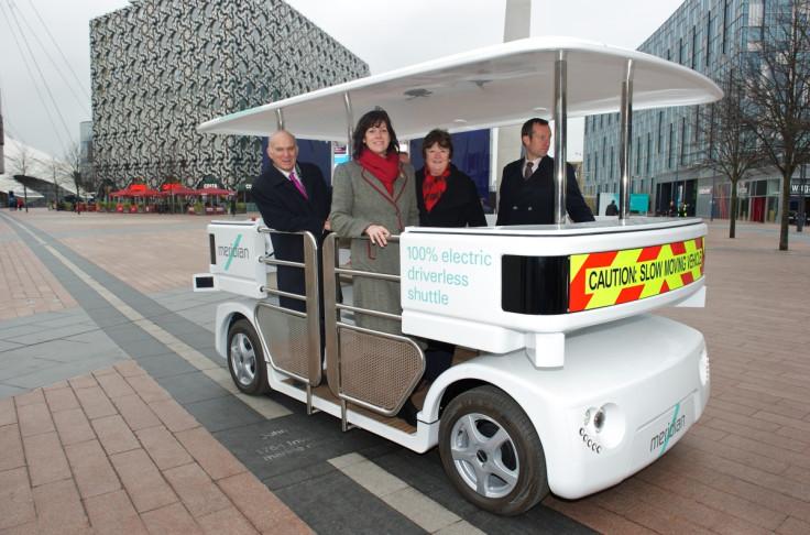 London driverless car