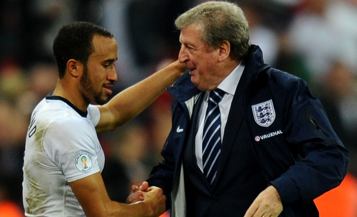 Roy Hodgson and Andros Townsend