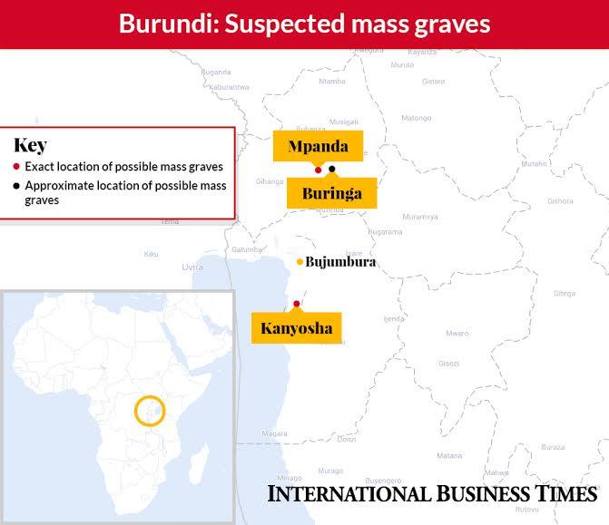 Burundi's suspected mass graves