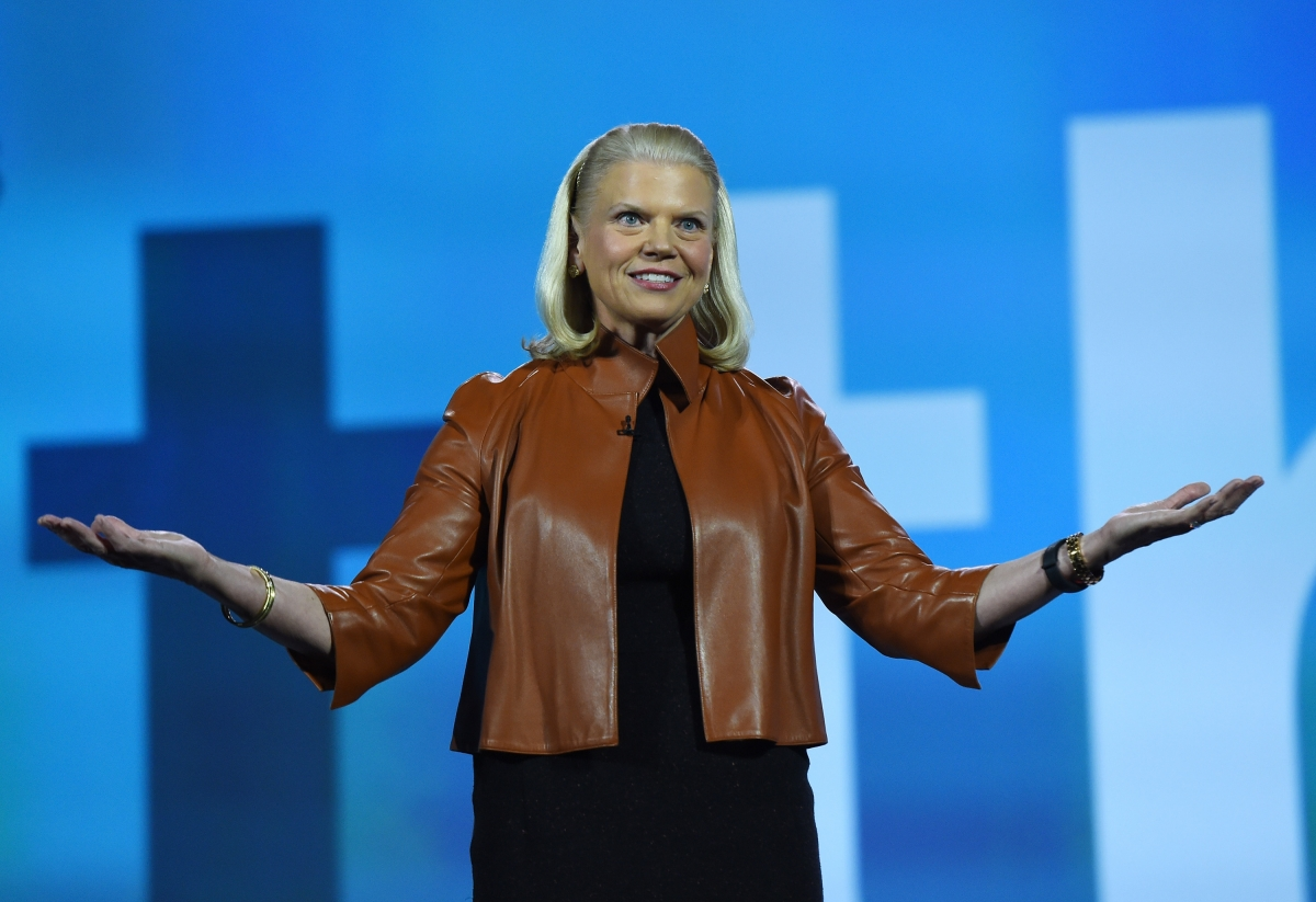 IBM CEO Virginia Rometty