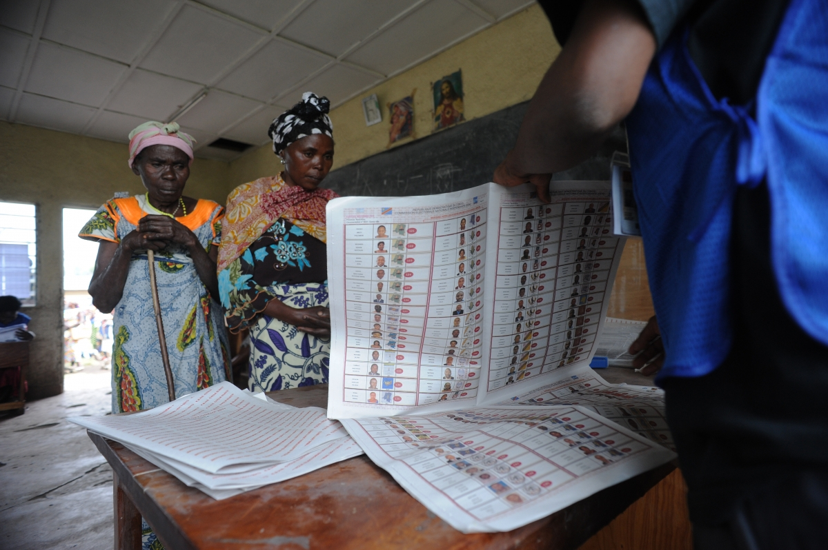 DRC 2011 elections