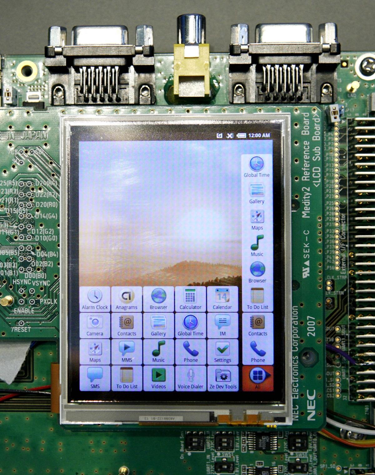 Android smartphone prototype
