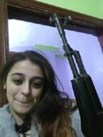 Tareena Shakil gun