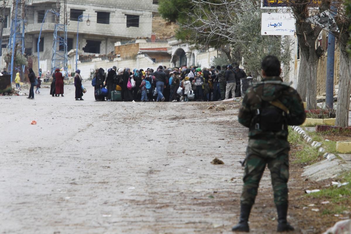 Madaya residents under seige