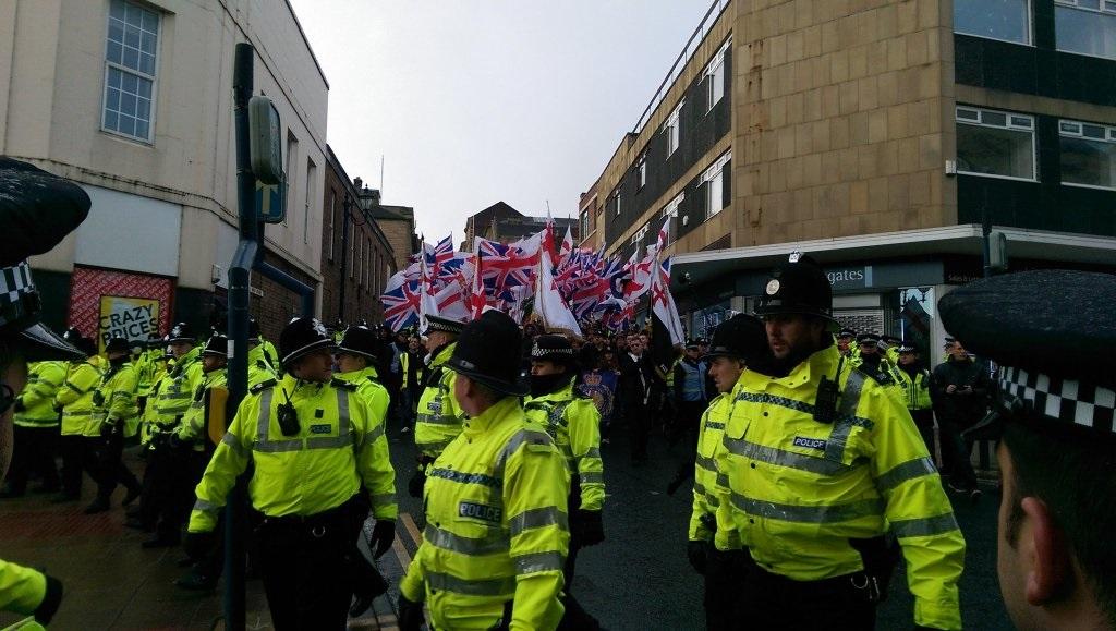 Dewsbury protest