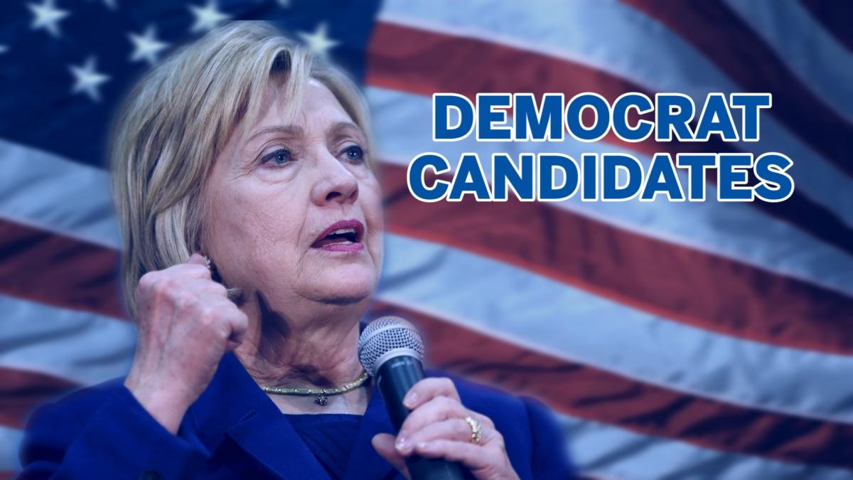 US election democrat candidates