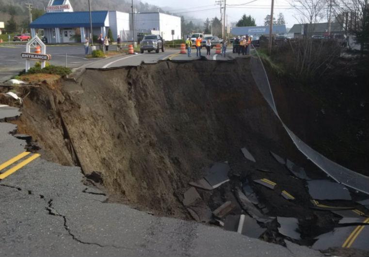 Oregon sinkhole