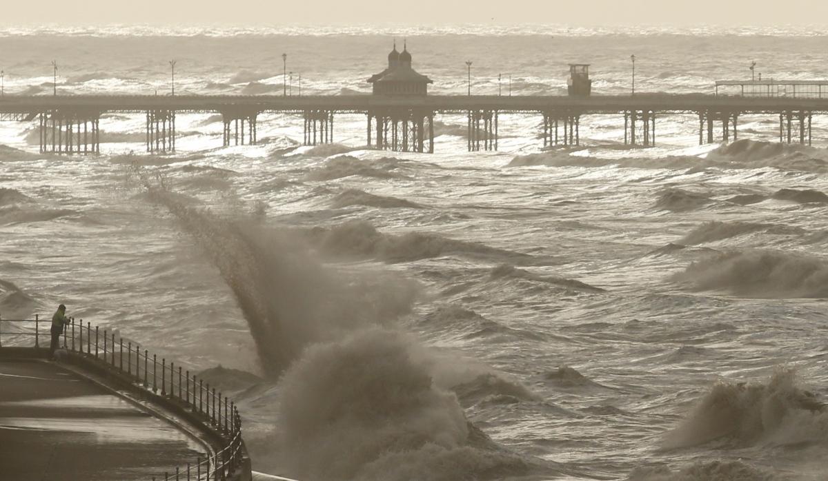Storm Gertrude, Irish Sea