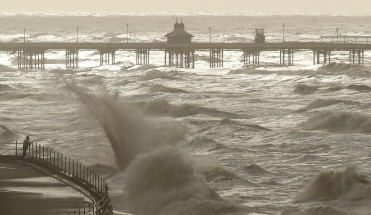 Storm Gertrude, Irish Sea