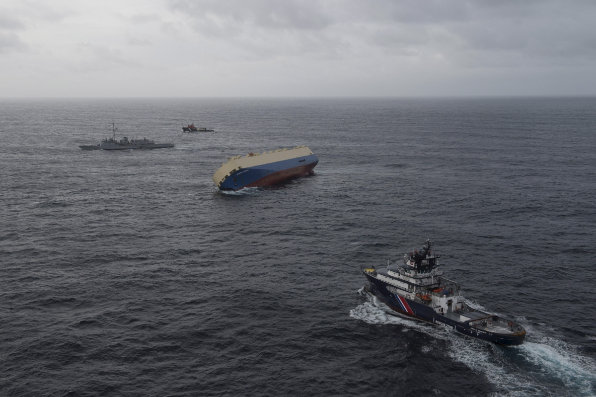 Modern Express cargo ship