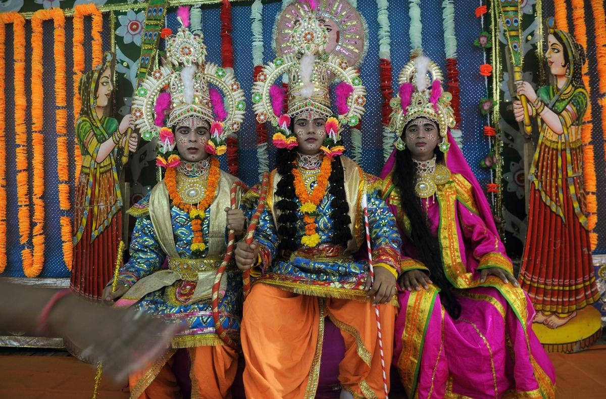 Lord Ram, Laxman and Sita
