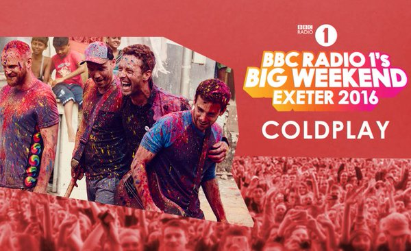 Bbc Radio 1's Big Weekend 2016 How To Get Free Tickets For Coldplay Rhibtimescouk: Radio 1 Big Weekend 2016 Tickets At Gmaili.net
