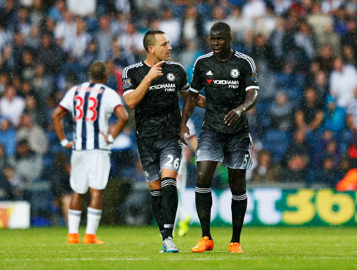 John Terry and Kurt Zouma