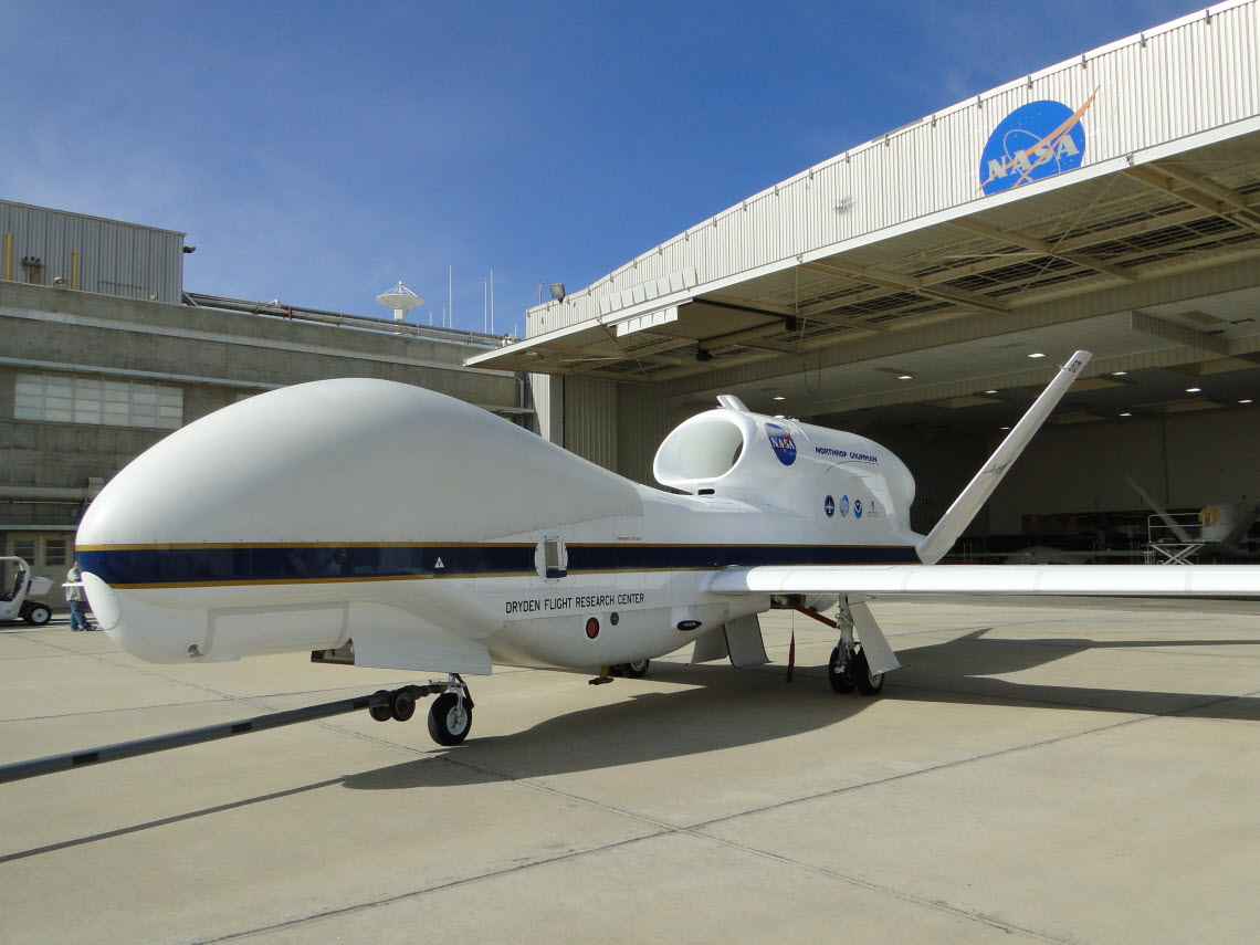 NASA Global Hawk drones