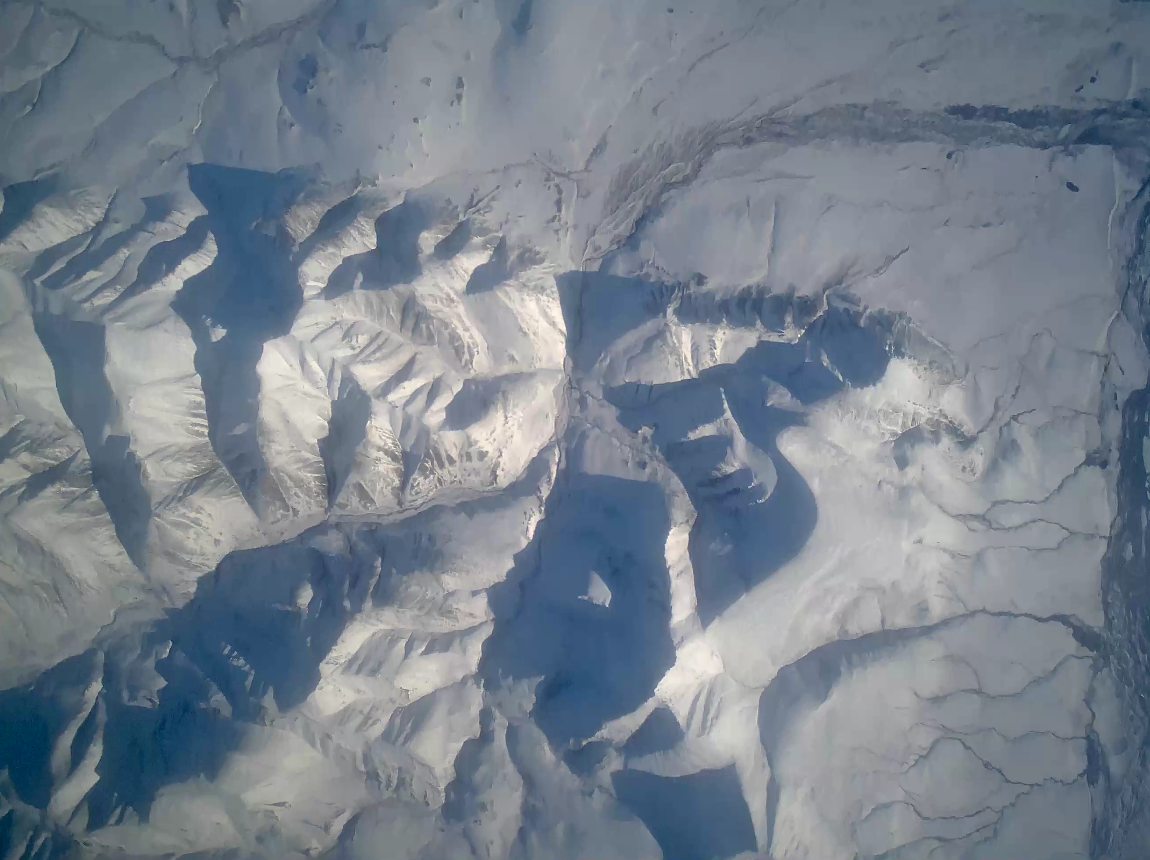 NASA hack drone footage of polar ice