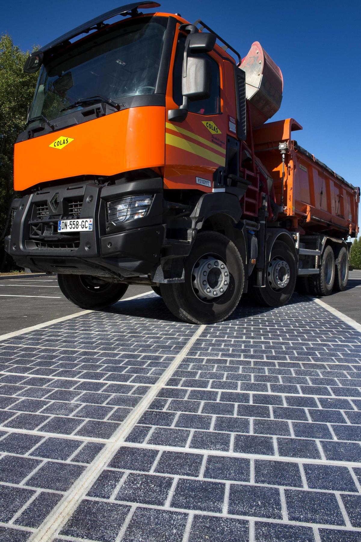 solar roads France