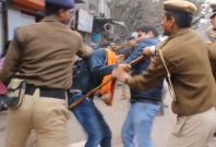 Delhi student protest