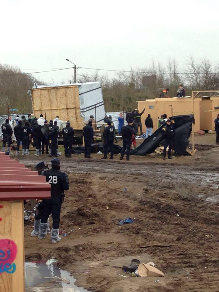 The authorities move in on Calais