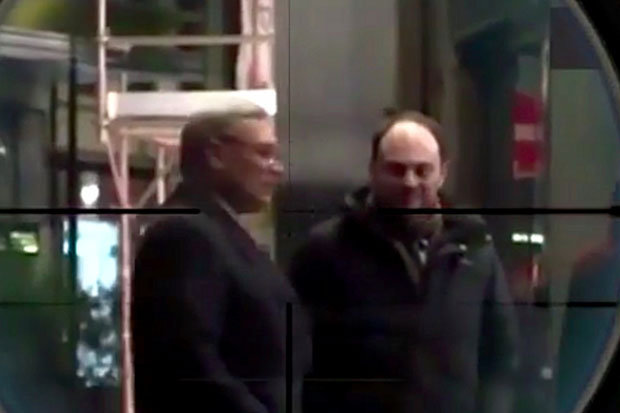Still from the video on  Kadyrov's Istagrampage