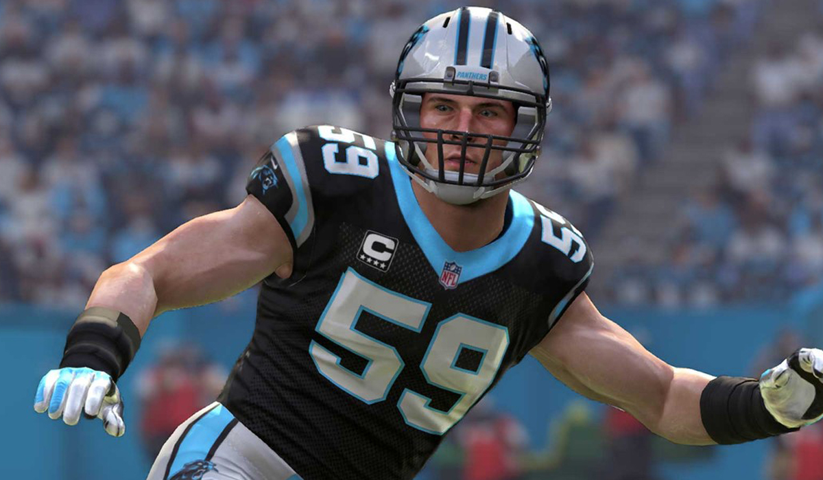 Super Bowl 50 Madden Carolina Panthers