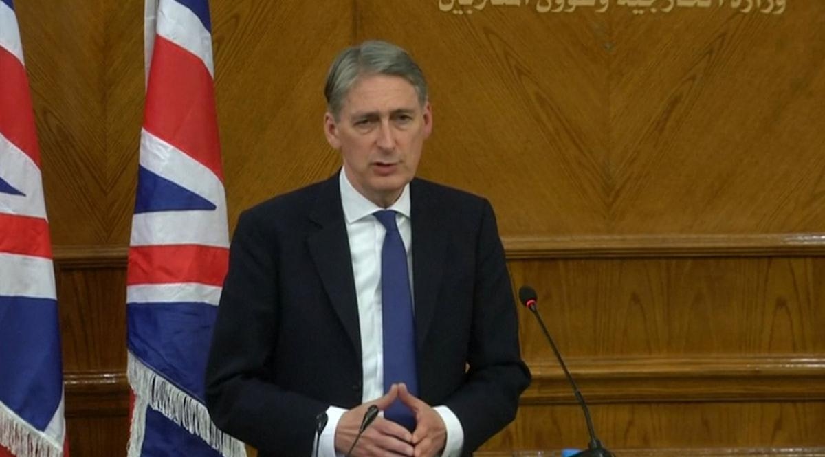 Philip Hammond in Jordan