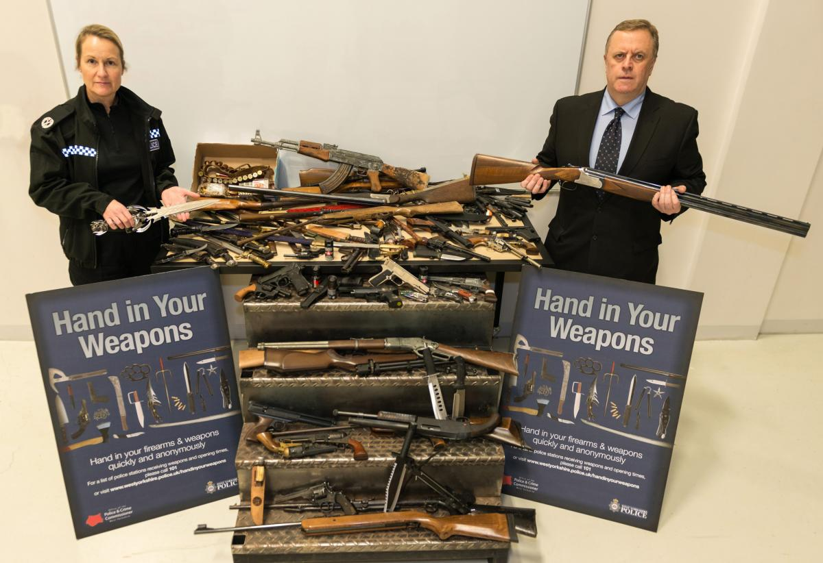 west yorkshire weapons