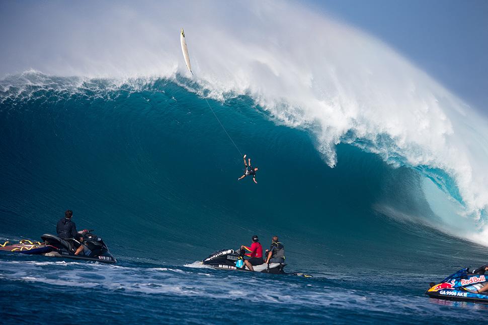 Tom Dosland wave crash