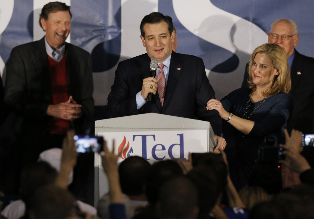 Ted Cruz Iowa Caucus