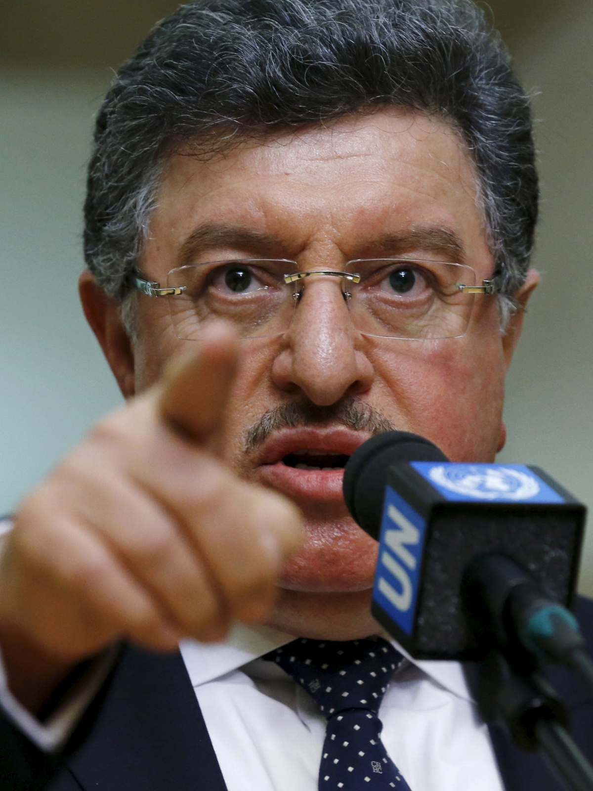 spokesman for the man Syrian opposition Salem al-Mislet